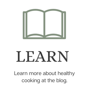 Learn more about how to become a better cook with healthier ingredients at the blog.